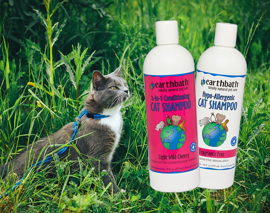 The Kitty Cleanup Helper: Earthbath Natural Cat Shampoo