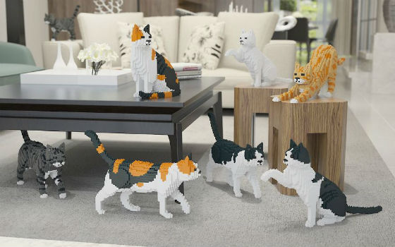 LEGO Cats!